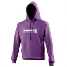 Listooder Hoodie Adults - Purple 2018